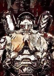 Legends of bedlam - torbjorn, overwatch - plakat wymiar do wyboru: 60x80 cm