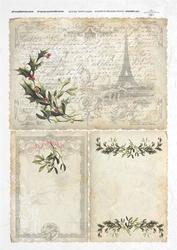 Papier ryżowy ITD A4 R195 Boże Narodzenie