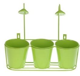 Zestaw 3 donic z prysznicem-zielony