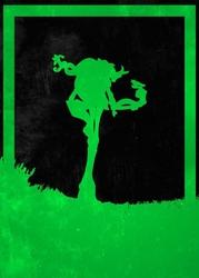 League of legends - ivern - plakat wymiar do wyboru: 21x29,7 cm