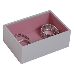 Pudełko na biżuterię open Mini Stackers szare
