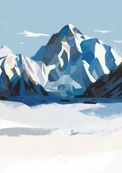 Góry k2 - plakat