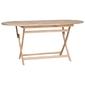Stół ogrodowy donata 160 cm drewniany