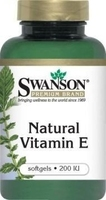 Swanson witamina e naturalna 200 iu x 100 kapsułek