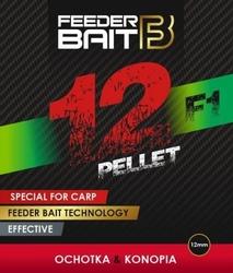 Pellet feeder bait f1 ochotkakonopia 12mm 800g
