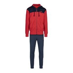 Zestaw dresowy męski diadora hd fz suit core - czerwony