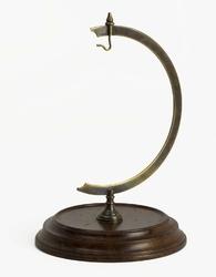 Authentic models stojak na zegarek eye of time i globus, brązowy gl000