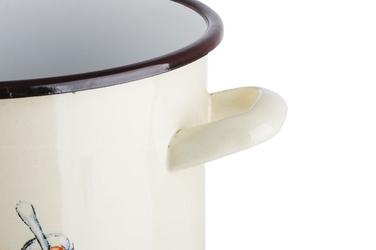 Elopol garnek emaliowany 16 cm 2.5l apetita wysoki indukcja