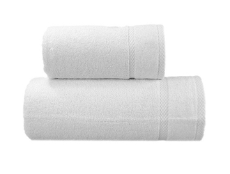 Ręcznik wellness greno biały - biały