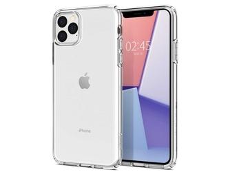 Etui spigen liquid crystal do apple iphone 11 pro crystal clear + szkło 3mk