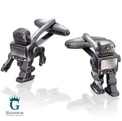 Spinki do mankietów X2 Robocik Robbo