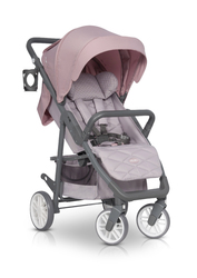 Euro Cart Flex Pro Powder Pink Wózek do 22kg + Folia + Moskitiera + Organizer