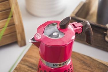 Gat coffee show kawiarka 1 tz 1 filiżanka mix kolorów