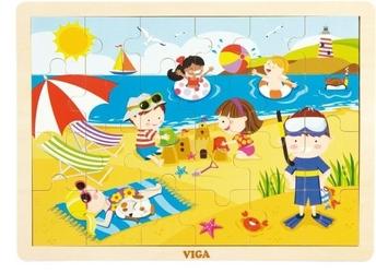 Viga puzzle cztery pory roku - lato