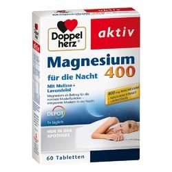 Doppelherz Magnez 400 tabletki do stosowania na noc