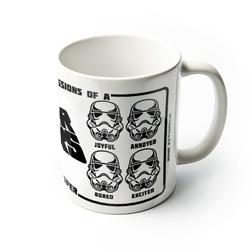 Star wars gwiezdne wojny expressions of a stormtrooper - kubek