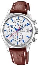 Festina timeless chronograph f20375-1