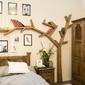 Półka drzewo cevilo i drewniana