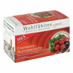 Hs Cranberry Acerolakirsche Tee Filterbtl.