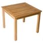 Stół ogrodowy z drewna tekowego 90x90