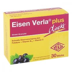Eisenverla plus direkt żelazo w saszetkach