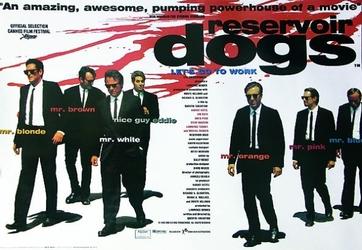 Wściekłe psy Lets go to work - plakat