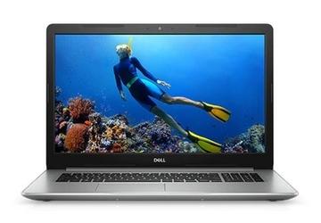 Dell Notebook Inspiron 5770 Win10Home i3-7020U1TB4AMDBlack-Silver