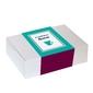 Zestaw prezentowy na wyjątkową okazję the best box. zestaw 20 herbat różnego rodzaju i smaku, zestaw 20 mielonych kaw w różnych smakach oraz stylowy kubek z zaparzaczem i pokrywką
