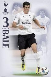 Tottenham hotspurs bale 1112 - plakat