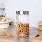 Słoik  pojemnik szklany na produkty sypkie altom design 1,75 l dek. prążki