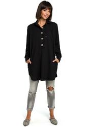 Koszula - tunika czarna b086
