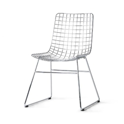Hkliving :: krzesło metalowe wire chromowane wys. 86 cm