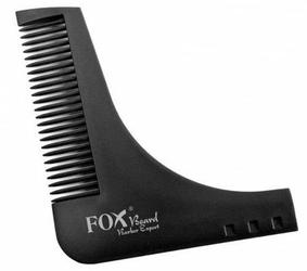FOX Beard Barber Expert profesjonalny grzebień barberski do brody i wąsów