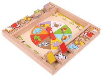 Gra edukacyjna dla dzieci Animal Shut the Box