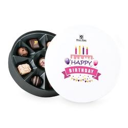 Urodzinowy prezent vintage white no.1 happy birthday
