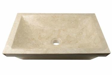 Umywalka nablatowa - umywalka z marmuru - zlew łazienkowy