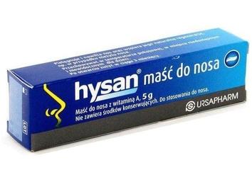 Hysan maść do nosa 5g