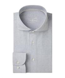 Męska niebieska koszula z recyklingu oxford 45