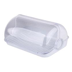 Chlebak  pojemnik na pieczywo plastikowy lamela duży marmurek