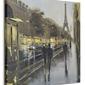 Paris reflections - obraz na płótnie