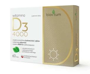 Biovitum witamina d3 4000 x 60 kapsułek