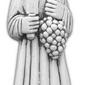 Figura ogrodowa betonowa św. wincenty 78cm