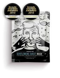 Barber pro gentlemens sheet mask - odmładzająco-nawilżająca maska z kolagenem