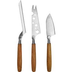 Noże do różnych rodzajów sera Oslo Boska dębowe uchwyty BO-320220