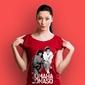 Jomaha t-shirt damski czerwony l