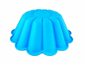 Silikonowa forma do pieczenia ciasta babka - Niebieska