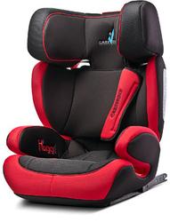 Caretero Huggi Czerwony Fotelik Samochodowy 15-36kg Isofix + Organizer