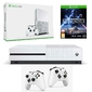 Konsola Xbox One S 1TB + 2 Pady + Star Wars Battlefront 2