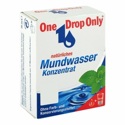 One Drop Only natuerl.Mundwasser Konzentrat