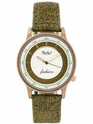 Damski zegarek PERFECT A379 - olive zp826c
